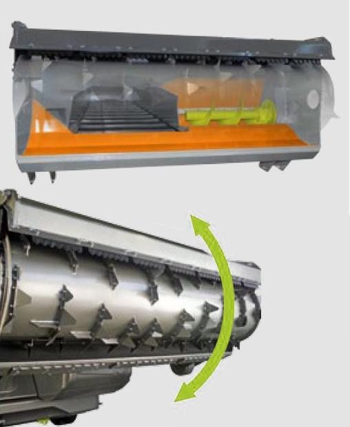 Fresa anteriore con FPS: carico preciso e veloce senza rovinare l'alimento