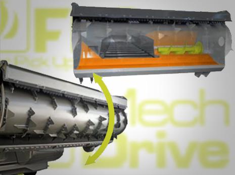 Fresa di carico con sistema FPS e Trasmissione meccanica al cassone Mech Drive