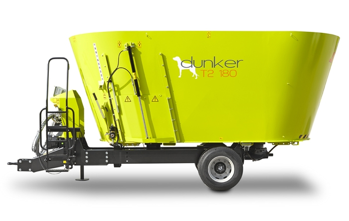 Trailed vertical mixer wagon Dunker-T2 180 Storti