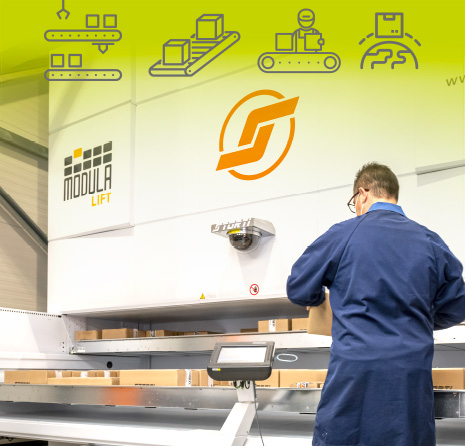 The turning point for Storti service with the new automated warehouse